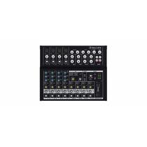 Mesa Mixer Analógica 12 Canais Eq Fx 48v Aux Mackie Mix12