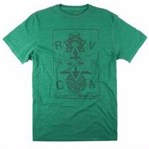 Camiseta Camisa Especial Rvca Orbitalized Washed Original