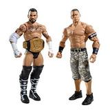 Coleccionable Wwe Cm Punk Y John Cena Figura 2-pack Serie 1