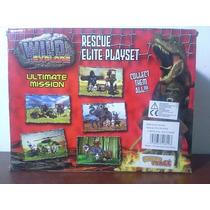 Juguete Dinosaurio Wild Explore Rescue Elite Play Set