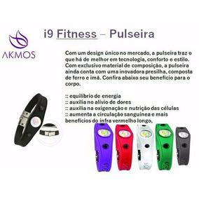 Pulseira Akmos I9 Original Magnéticos Bracelete Terapeutica