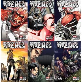 Manga Attack On Titan 1 Al 12 Precio X C/u Panini