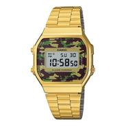 Reloj Casio Vintage A 168wegc 3d Comercio Oficial Autorizado