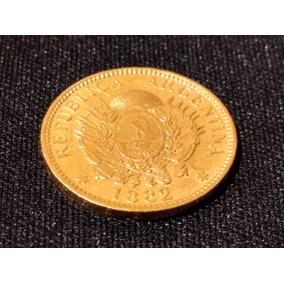 Moneda 5 Pesos Argentino De Oro 1882-1888