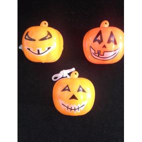 Nariz Calabaza Halloween Luminosas Cotillón (25 Unidades)