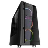 Gabinete Gamer Skynet Plus Con Leds Multicolor Eagle W