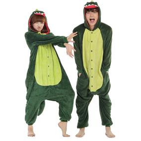 Pijamas Kigurumi Polar Dinosaurio Adulto Unisex R5590