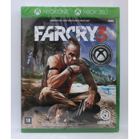 Far Cry 3 Jogo Xbox 360 E Xbox One Novo Mídia Fisica