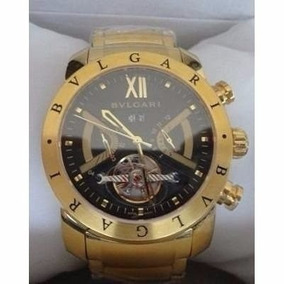 f456f83eb03 Relogio Bvlgari Iron Man Automatico Dourado - Relógio Bvlgari no ...
