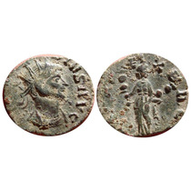 Aaaa Antigua Moneda Romano Marco Claudio Ii 3g 19mm Wow Rcb
