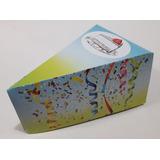 50 Cajas Porta Porciones Tortas