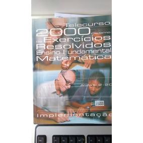 Telecurso 2000 Cad De Exercicios Ens Fundamental Matematica