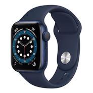Apple Watch 6 44mm Gps + Celular Blue/deep Navy 12x S/juros