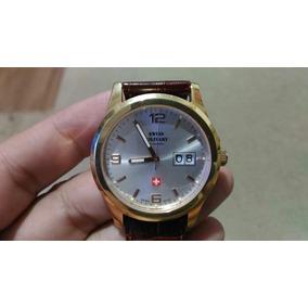 5ad415ae57d Relógio Dogma Prima Swiss Plaquê De Ouro Leilão Livre !! - Relógios ...