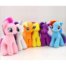 Set 6 Peluches My Litle Pony Envío Incluido Por Dhl