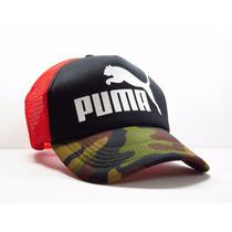 Gorra Puma Trucker Camionero Moda 2017