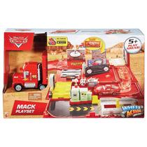 Camion Cars Mack Playset Taller Original Mattel
