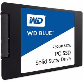 Ssd Wd Blue 250gb Sata 3 540mbs Por 500mbs Wds250g1b0a