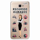 Case Capa Capinha Samsung Galaxy J7 Prime - Rec Humanos Fem