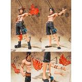 Figura Portgas D Ace En Caja. One Piece. 18cm De Altura.