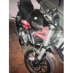 Zx6 Zx10 Cbr 600 Yamaha R6 R1 Caida Chocada Desarme