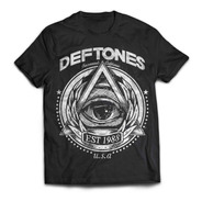 Camiseta Deftones 1988 Rock Activity