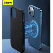 Capa Magnetica Magsafe Couro iPhone 12 Pro / Pro Max Baseus