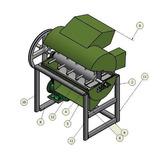 Diseño Para Fabricar Maquina Desgranadora De Maiz Y Granos