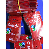 Paquete X 100 Sim Card Claro Prepago Activadas 4g Lte