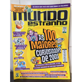 Revista Mundo Estranho Edição 47 - Jan/2006