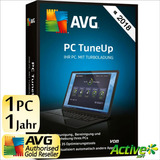 Avg Tunneup Para Windows Versión 2017 Licencia Vitalicia