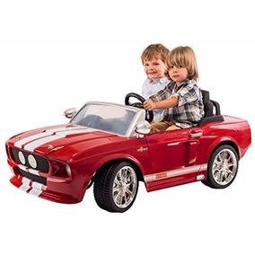 Carrito Electrico Montable Mustang Shelby 1967 Rojo Fuego
