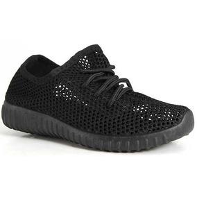 Tenis Casual Mujer Qupid Sneaker Negro