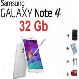 Samsung Galaxy Note 4 32gb 4g Lte 16mp 4k Hd Nuevo Libre