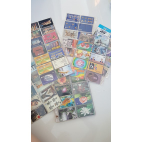 Coleção De Cartão Telefônico Com 300 Cartões