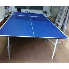 163956ea0 Mesa De Ping Pong Plegable Azul