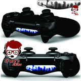 Adesivo Skin Decal Light Bar Controle Ps4 Zumbis Twd Zombies