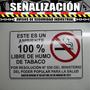 Aviso 100% Libre Humo Crvd