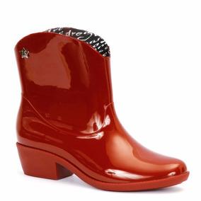 Lady Stork Rosalia - Bota Lluvia Mujer Texana Goma