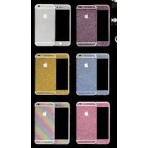 Sticker Calcomanias Glitter Brillos Iphone 6 Plus 6s Plus