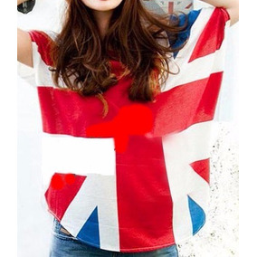 Blusa Playera Bandera Uk Inglaterra One Direction