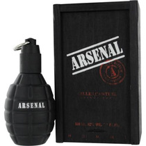 Perfume Arsenal Black Homme Edp Masc Gilles Cantuel 100ml
