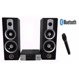 Minicomponente Equipo Musica Bluetooth Sd Dvd Cd Karaoke+mic