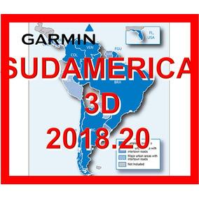 Mapa Garmin Sudamerica America 3d Gps Ultima Version