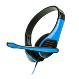 Audifonos Diadema Gamer Pc Microfono 3.5mm Naceb Na-589