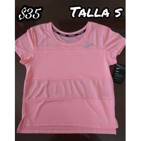 Camiseta Deportiva De Mujer Nike Talla S