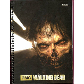 Caderno The Walking Dead 1 Materia 96 Fls Universitario