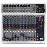 Consola Mixer Mezclador Peavey Pv14 Con 14 Canal. Ideal Vivo