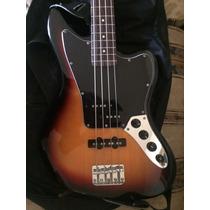 Bajo Eléctrico Fender Squier Jaguar Vintage Con Forro