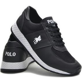 Tênis Polo Plus Corrida Caminhada Jogging Original Promoção! d37be3032db